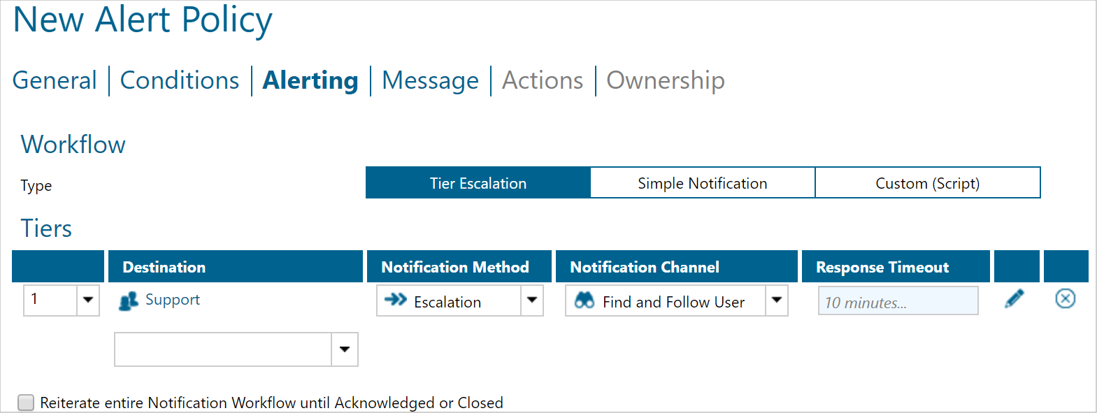 Set up destinations and notification channels